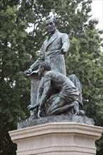 Emancipation Memorial honoring Abraham Lincoln. 2010