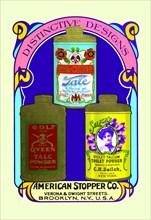 Golf Queen Talc Powder, Per-Oxide Talc, and Selick's Violet Talcum Powder 1900