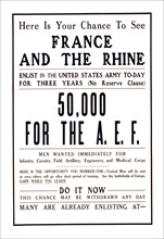 Here is your chance to see France 1917