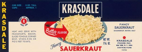 Krasdale Fancy Sauerkraut