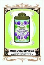 Rexall Violet Talcum Powder 1900