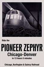 Ride the Pioneer Zephyr 2009