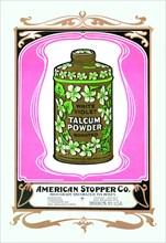 White Violet Talcum Powder 1900