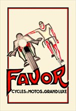 Favor Cycles and Motos de Grand Luxe 1928