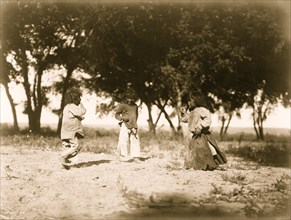 Child life, the cotton woods--Navaho 1905