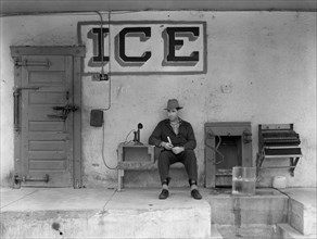 Waiting for a Phone Call for an Ice Delivery 1915