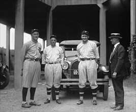 Baseball Players Ty Cobb, Milan, Johnson, Eddie Black 1922