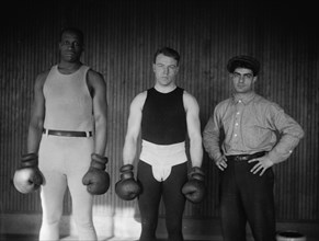 Bob Armstrong, Eddie McGoorty, Ed McMahon 1912