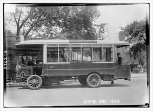 Fifth Avenue Bus, Central park bus 1912