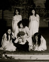 Children of the Shadow. Miss Mackay's Pageant Children of Sunshine and Shadow as presented at Washington Irving High School. 1916
