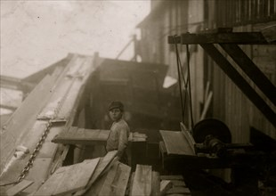 Working in a lumber mill and doing dangerous work 1914