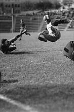 Taking Flight on the Football Field 1923