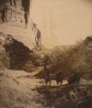 Navahos in Tesakod Canyon 1904