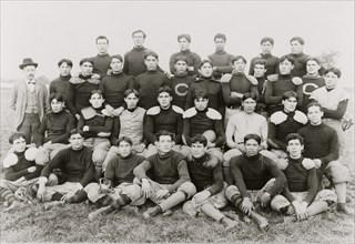 Indian foot ball teams 1898