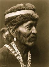 Navajo with fur cap 1905