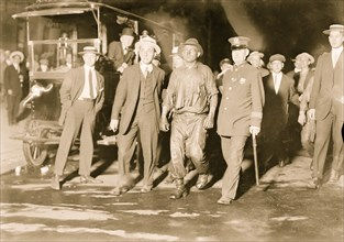 Rescued from Aqueduct fire 1913