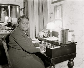 Mary Bethune, in charge of the Colored Section  1938
