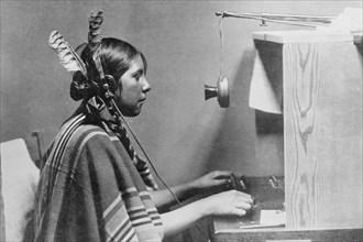 Native American Switchboard Operator