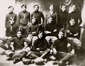 Osage Indian School football team 1910