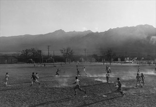 Football practice  1943