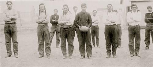 Sioux football team 1912