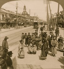 The Ginza of Japan 1904