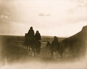Among the Black Buttes--Navaho land 1905