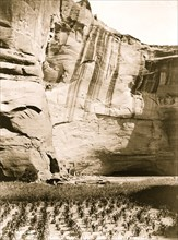 Today and Yesterday--Navajo. Antelope Ruin, Canyon del Muerto 1906