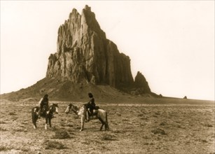 Near the base of Old Shiprock 1914