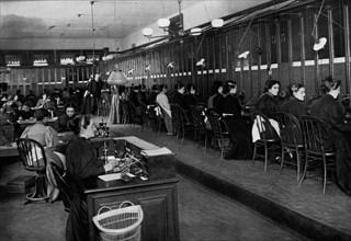 New York Central Telephone Exchange 1899