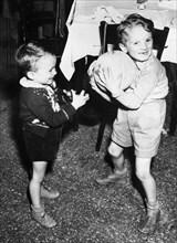 Mazzola Brothers sons of Valentino Mazzola. Torino Football Club 1949 victims of the plane crash