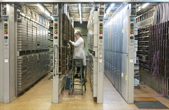 Digital Equipment Installed At Moscow Telephone Exchanges
