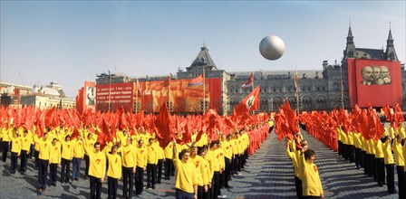 The May Day Demonstration In The Red Square