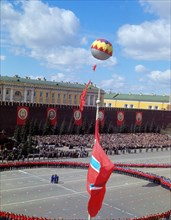 May Day Parade Of Athletes In Moscow