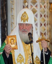 Patriarch Kirill Blesses Russian Olympic Team