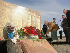 Victims Of Rocket Explosions Commemorated At Baikonur Cosmodrome
