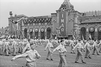 May Day Parade In Red Square
