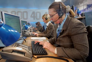Operation Of Call Centre During Russian President's Call-In Show
