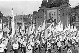 41st Anniversary Of 1917 Revolution In Moscow