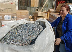 Pirate Cds Being Destroyed In Moscow Region
