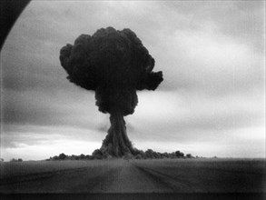 The first soviet atomic bomb test, first lightning (?????? ??????), ussr, august 29, 1949.