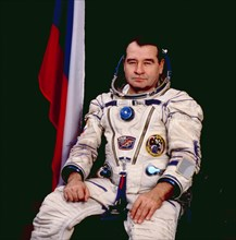 U,s,-russian joint mission, soyuz tm-21, flight engineer, gennady strekalov, 1995.