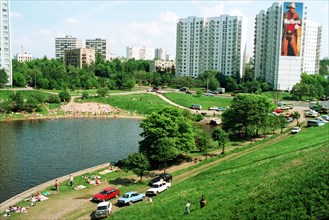 Moscow canal, moscow region, 1995.