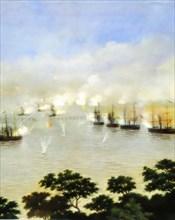 War of the Triple Alliance War of Paraguay 1865 1870 Battle of Curupayti