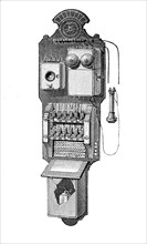 A Telephone Exchange Machine From America