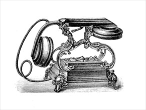 An Old Telephone From The 19Th Century