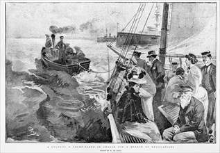 The Graphic Newspaper/Naval review 1897