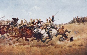 The charge of the Cuirassiers at Rezonville