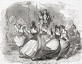 Milkmaid's dance