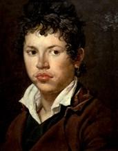 Portrait d'un jeune homme à la boucle d'oreille